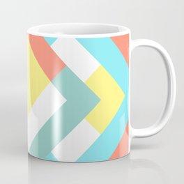 Diamond Teal Coffee Mug