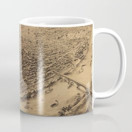 Vintage Pictorial Map of St Louis MO (1892) Coffee Mug