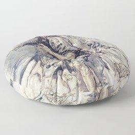 Anthropomorphic Donkey Floor Pillow