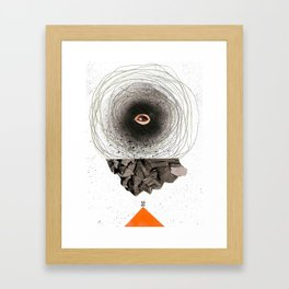 i c u Framed Art Print