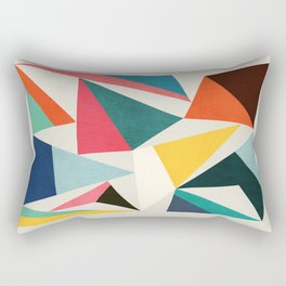 Collection of pointy summit Rectangular Pillow