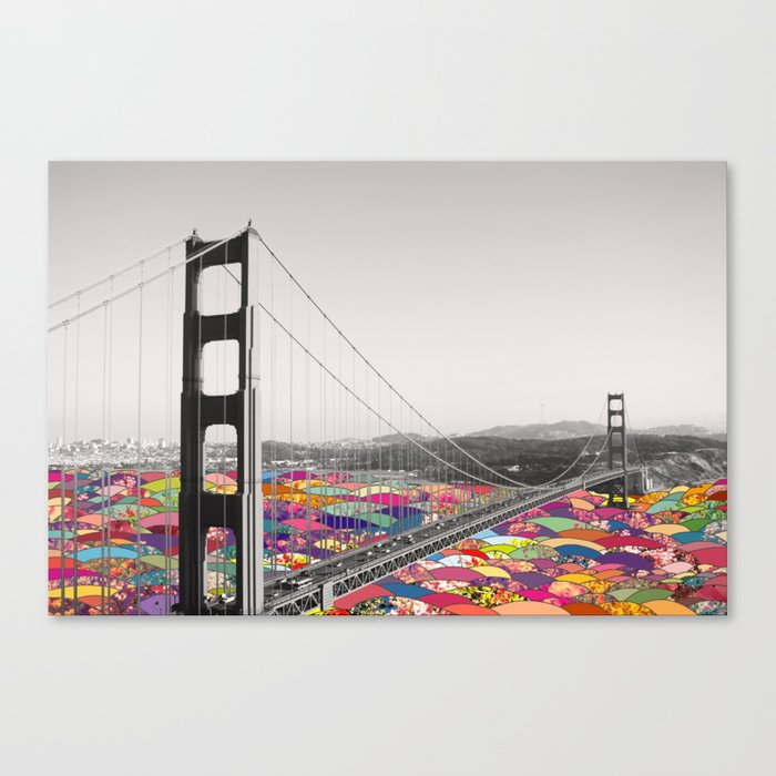 It's in the Water Canvas Print