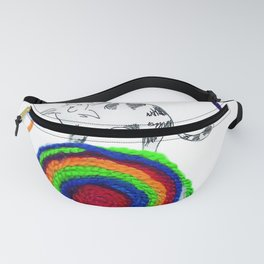 string cat Fanny Pack