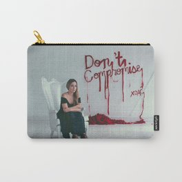 Don't Compromise, Silk Graffiti by Aubrie Costello Carry-All Pouch