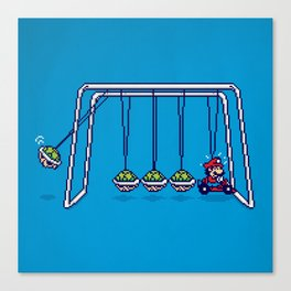 Mamma Mia! (pixel version) Canvas Print