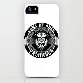 sons of odin valhalla iPhone Case