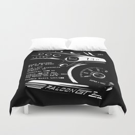 Ford Falcon XY GT & GTHO (specifications) Duvet Cover