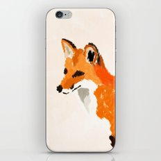FOX: THE RED BANDIT iPhone & iPod Skin