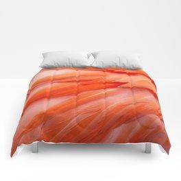 Flamingo Feathers Comforters