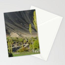 Poplar trees, Leh Ladak, India Stationery Cards