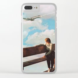 Trajectory Clear iPhone Case