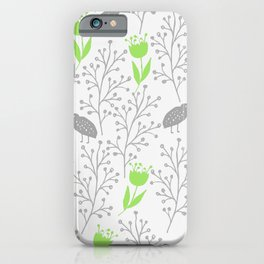 KiwiGarden - green and gray iPhone Case