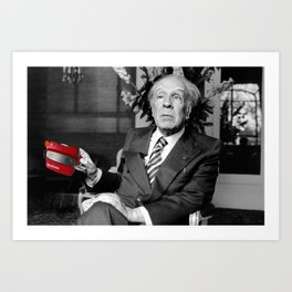 #114 Borges view Art Print