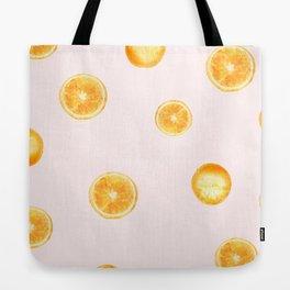 Orange watercolor Tote Bag
