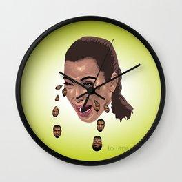 """""""Kryeezy"""" by Lex Lumens Wall Clock"""