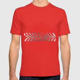 Tractor Tyre Marks T-shirt