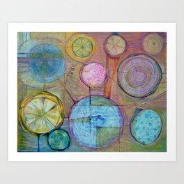 Lemons Juice the Juice of Life Art Print