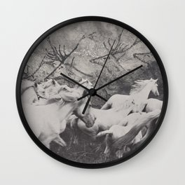 Running With The Ancestors Wall Clock