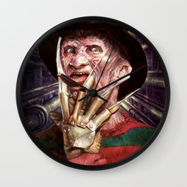 Nasty Freddy Wall Clock