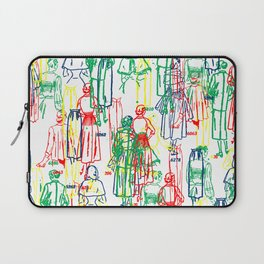COLORFUL DRESSES Laptop Sleeve