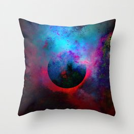 α Dark Aurigae Throw Pillow