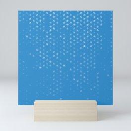 leo zodiac sign pattern wb Mini Art Print