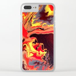 Burning Within Clear iPhone Case