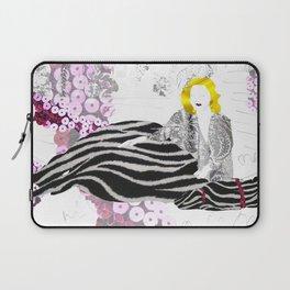 Beloved Zebra Laptop Sleeve