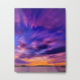 Colors of sky Metal Print