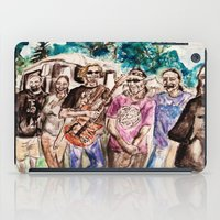 grateful dead iPad Cases featuring Dark Star Orchestra Grateful Dead Painting by Acorn