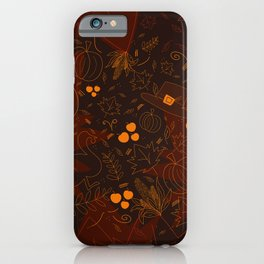 Thanksgiving Glee iPhone Case