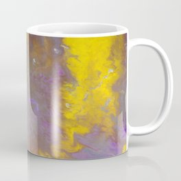 Blue & Yellow Coffee Mug