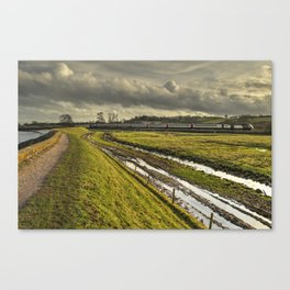 Estuary HST  Canvas Print