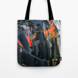 Rain Graffiti Tote Bag