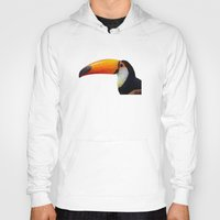 toucan Hoodies featuring Toucan by emegi