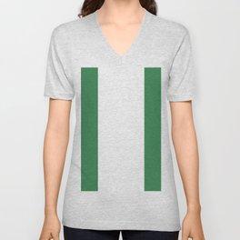 Nigeria flag emblem Unisex V-Neck