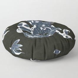 Starry Night Koi Floor Pillow
