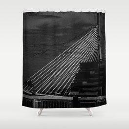 Bunker Hill Bridge Shower Curtain
