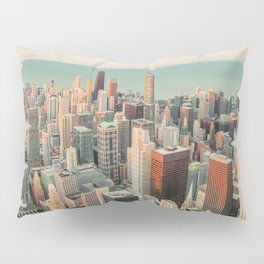 CHICAGO SKYSCRAPERS Pillow Sham