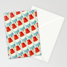 USA 4th of July Popsicle Pattern Stationery Cards