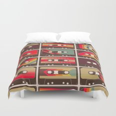 Mixed Tapes Duvet Cover