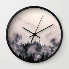 I fall behind Wall Clock