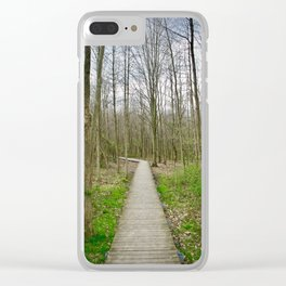 Wherever You May Go Clear iPhone Case
