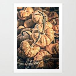 Autumn Grunge Art Print