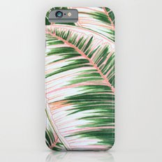 Leaves 1- Pink Slim Case iPhone 6