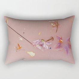 Harry Styles - pink flowers album Rectangular Pillow