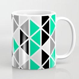 Triangular Vitrail Mosaic Pattern V.03 Coffee Mug