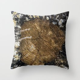 Counting the Years Throw Pillow