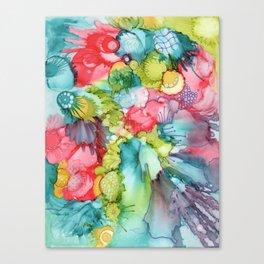 Swoosh doodle Canvas Print