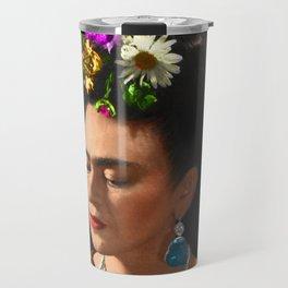 FRIDA KAHLO TURQUESA Travel Mug